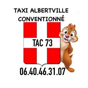 TAXI ALBERTVILLE CONVENTIONNÉ, TAC 73.