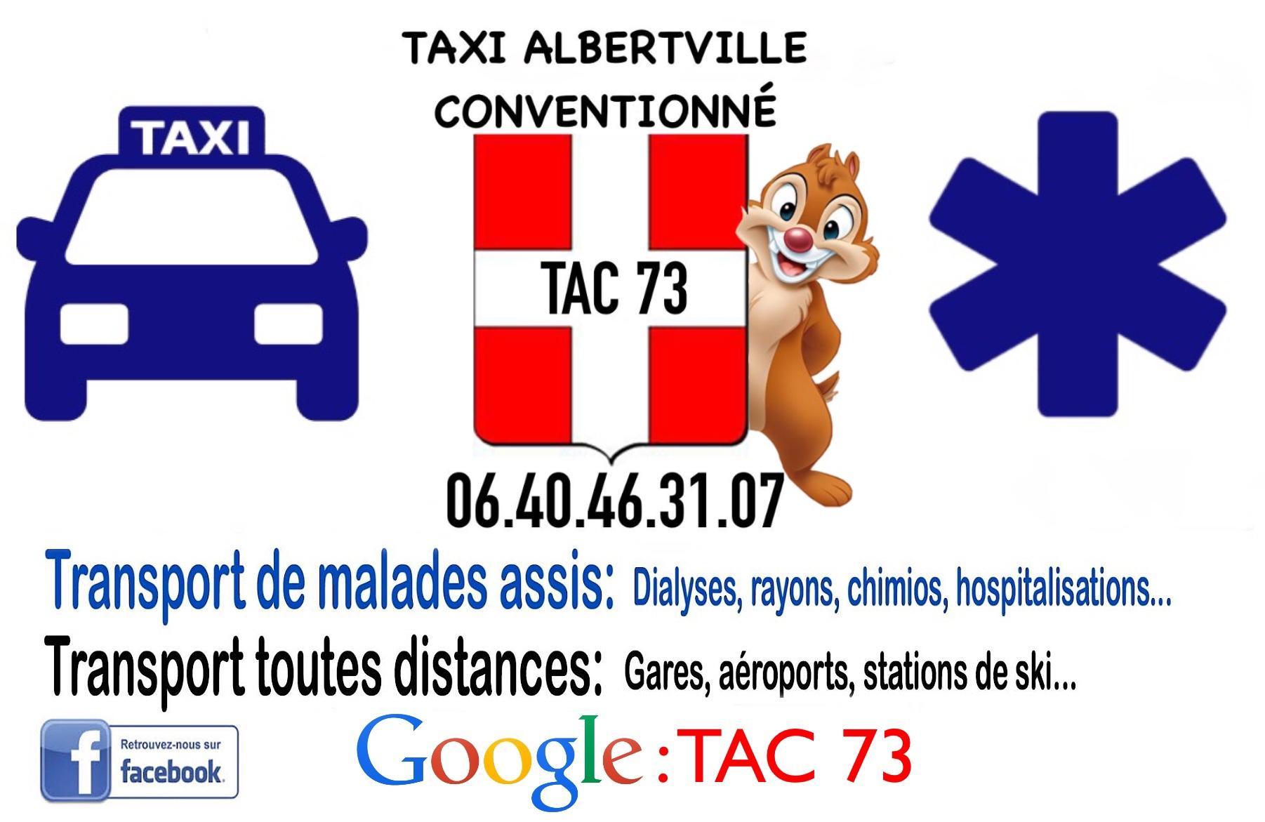 Carte de visite Tac 73.